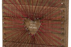 """Selling with online payment: """"Love You More"""" Box Sign"""