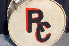 "Selling with online payment: 1920s W&A ""Carry All"" hinged bass drum w toms"