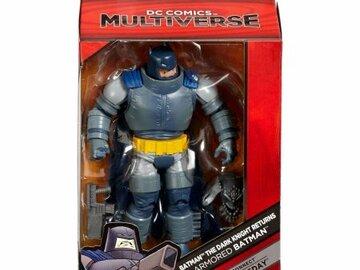 Liquidation/Wholesale Lot:  3  Pc. Lot Of Batman Dark Knight Returns Action Figure