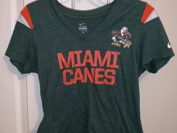Selling A Singular Item: Miami Hurricanes T-shirt