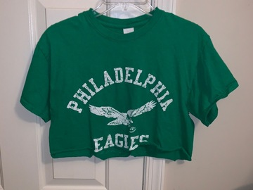Selling A Singular Item: Cropped Eagles T-Shirt