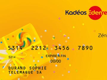 Vente: Carte Kadéos Zenith (171€)