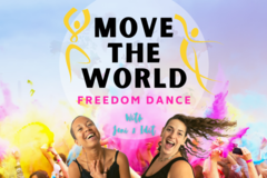 Group Session Offering: Lockdown Workout✨MOVE THE WORLD✨Freedom Dance Class