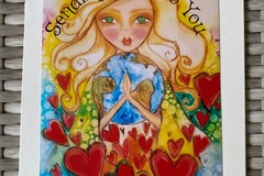 "Selling with online payment: ""Sending Love to You"" Card"