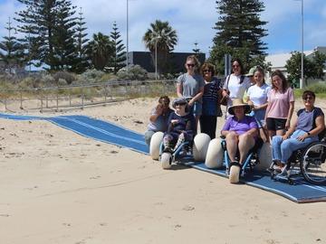 Daily Rate: Beach Wheel Chair