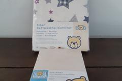 Verkaufen mit Online Zahlung: Biber Bettwäsche-Garnitur 100% Baumwolle