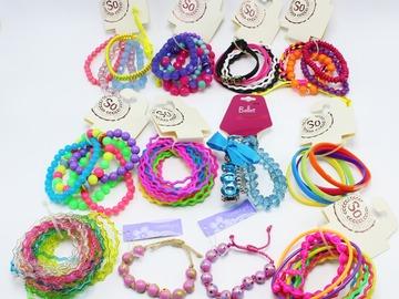 Liquidation/Wholesale Lot: Dozen New Department Store Teen Bracelet Sets
