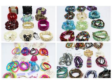 Liquidation/Wholesale Lot: 48 New Department Store Bracelets & Bracelet Sets