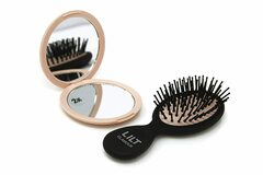 Buy Now: 24 sets-Lilt Beauty 2-Piece Compact Hair Brush & Mirror Gift Set
