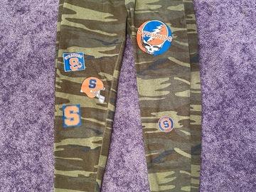 Selling A Singular Item: Syracuse Camo Patch Alternative Sweatpants
