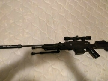 Selling: Black Ops Tactical Break Barrel Gas Piston Air Rifle .177 pellets