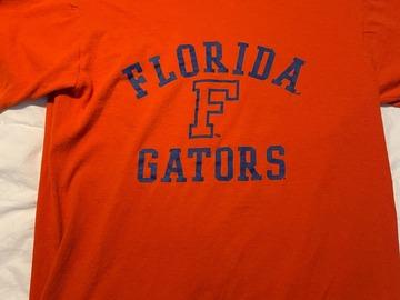 Selling A Singular Item: Orange Florida Gators Tee