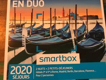 "Vente: Smartbox ""3 jours en Europe en duo"" (199,90€)"