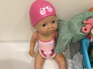 Vermieten mit Online-Zahlungen: Schwimm Baby Born