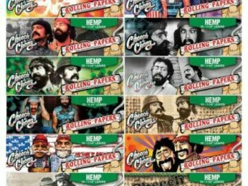 Post Now: Cheech & Chong Rolling Papers Hemp 1 1/4 Unflavored Pack Of 1