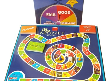 Selling with online payment: My Money Score - A Financial Literacy Board Game