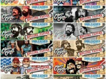 Post Now: Cheech & Chong Rolling Papers 1 1/4 Unflavored Pack Of 6