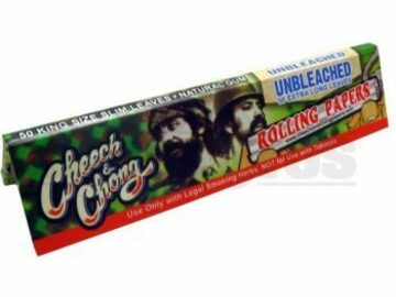 Post Now: Cheech & Chong Rolling Papers Kingsize Unflavored Pack Of 9