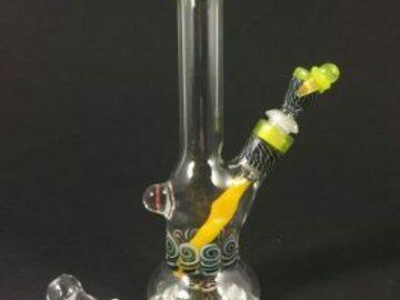 Post Products: Chunk Glass minitube set Yellow