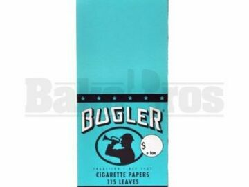 Post Now: Bugler Cigarette Papers 50 Leaves Unflavored Pack Of 6