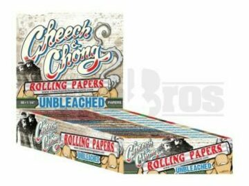 Post Now: Cheech & Chong Rolling Papers 1 1/4 Unflavored Pack Of 25