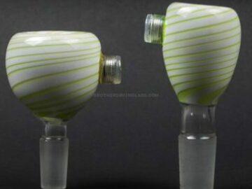 Post Products: Chameleon Glass Sunspot Light Up Bowl Slide
