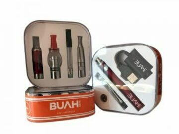 Post Products: Buah 4 in 1 Vaporizer Kit: Dry herb, Wax and E-Liquid