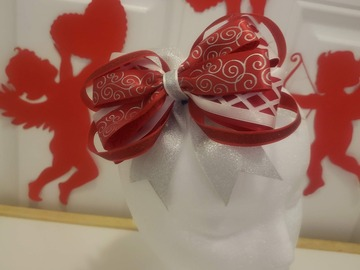 Selling with online payment: Valentine's Layered Bow