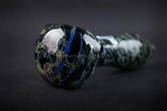Post Products: Chameleon Glass Black Granite Hand Pipe
