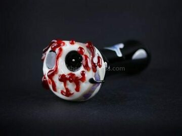 Post Products: Chameleon Glass Jason Voorhees Hand Pipe