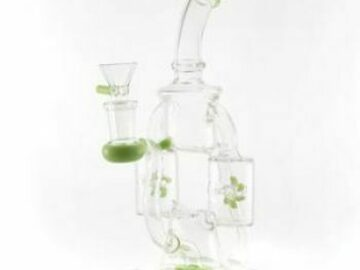 Post Products: CaliConnected Double Windmill Recycler Bong