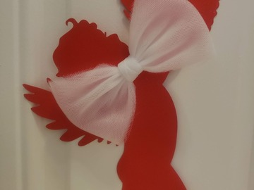 Selling with online payment: Tulle Bows - 4 inch - Alligator Clip