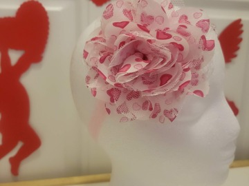 Selling with online payment: Pink Heart Blossom Bow - 14 inch