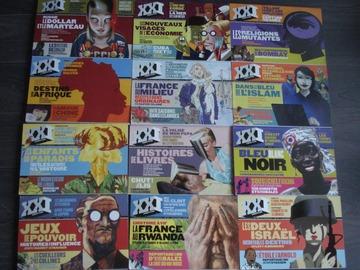 """Vente: Lot de 12 revues """"XXI"""" - """"L'information grand format"""""""