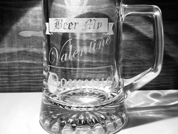 """Selling with online payment: """"Beer My Valentine"""" Mug"""