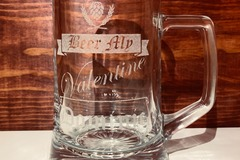 Selling with online payment: Gift Set: Beer Mug, Flask and Bottle Opener