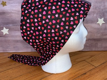 Selling with online payment: Valentine's Day Scrub Cap