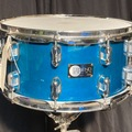 Selling with online payment: Rare '96 Legend 6.5 x 14 snare, Teal lacquer finish, excellent