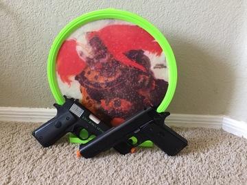 Selling: crosman Z311 Zombie Ezterminator Airsoft Gun set with target