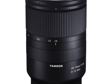 Vermieten: Tamron 28-75mm F/2.8