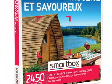 """Vente: Coffret Smartbox """"Week-end insolite et savoureux"""" (99,90€)"""
