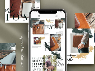 Advertentie: Aesthetic Instagram Puzzle for your bol.com product/brand