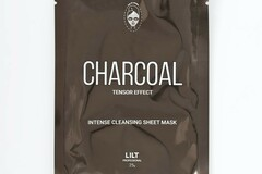 Liquidation/Wholesale Lot: Lilt Charcoal Tensor Effect Intense Cleansing Face Sheet Mask –