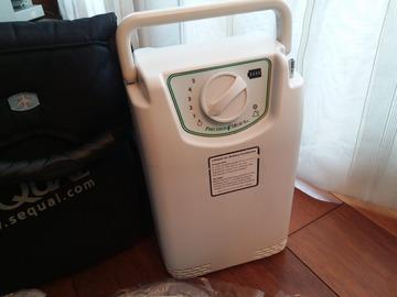 Venta de producto: Oxígeno concentrador portátil