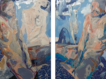 Selling : Sisters, diptych