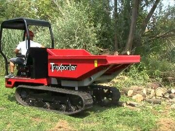 Weekly Equipment Rental: 3 tonne Swivel skip Dumper