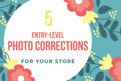 Offering online services: Entry Level Photo Correction - Pack Of 5