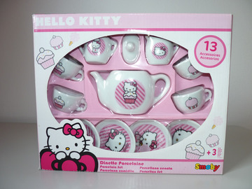 Vente: Dinette porcelaine Hello Kitty TBE