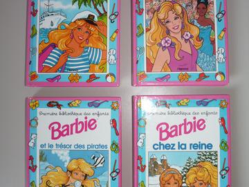 Vente: Lot de 4 livres bibliothèque des enfants Barbie BE