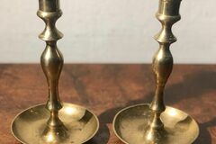 Ostetaan: Ostetaan vanhoja messinki kynttilänjalkoja!